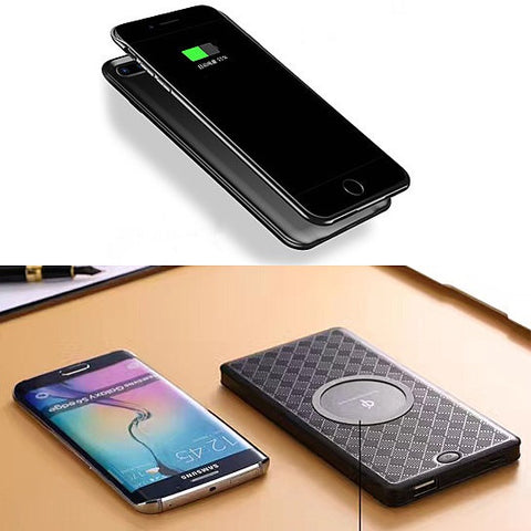 Quick iPhone 8/8X Qi Wireless Portable Pocket Charger