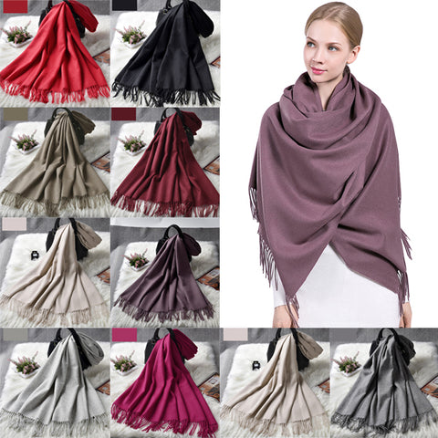 Fashion Wrap Lambs Wool Shawl