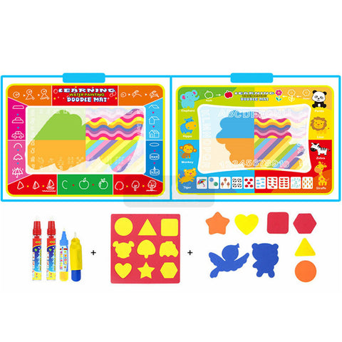 Magic Mat With Erasable Water Colors