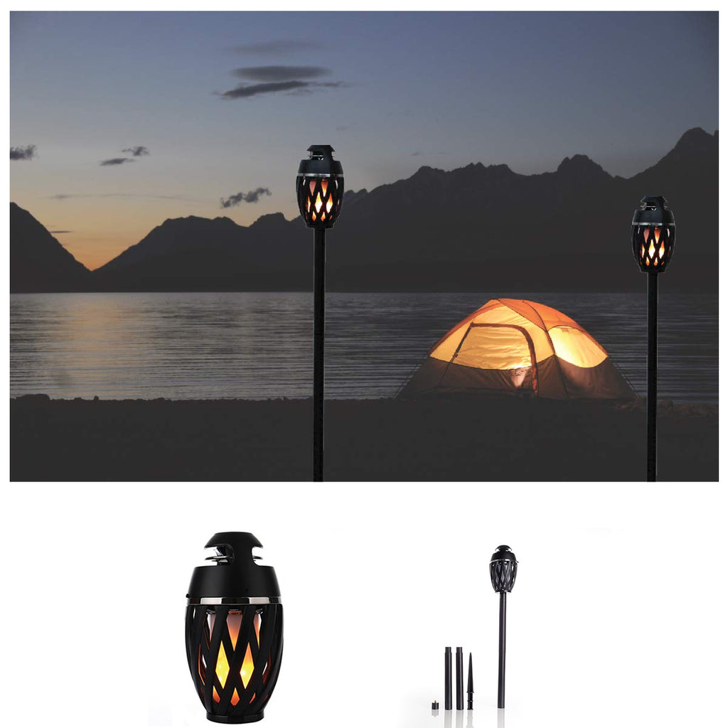 Tiki Tiki To To Outdoor LED Torch With Bluetooth Speaker
