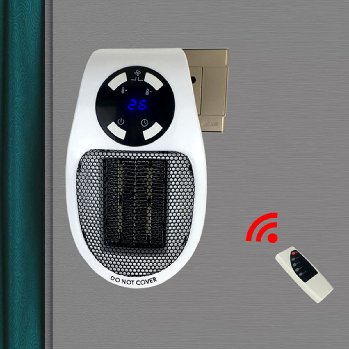 shopify-Personal Space Mini Heat Blaster With Remote Control-4