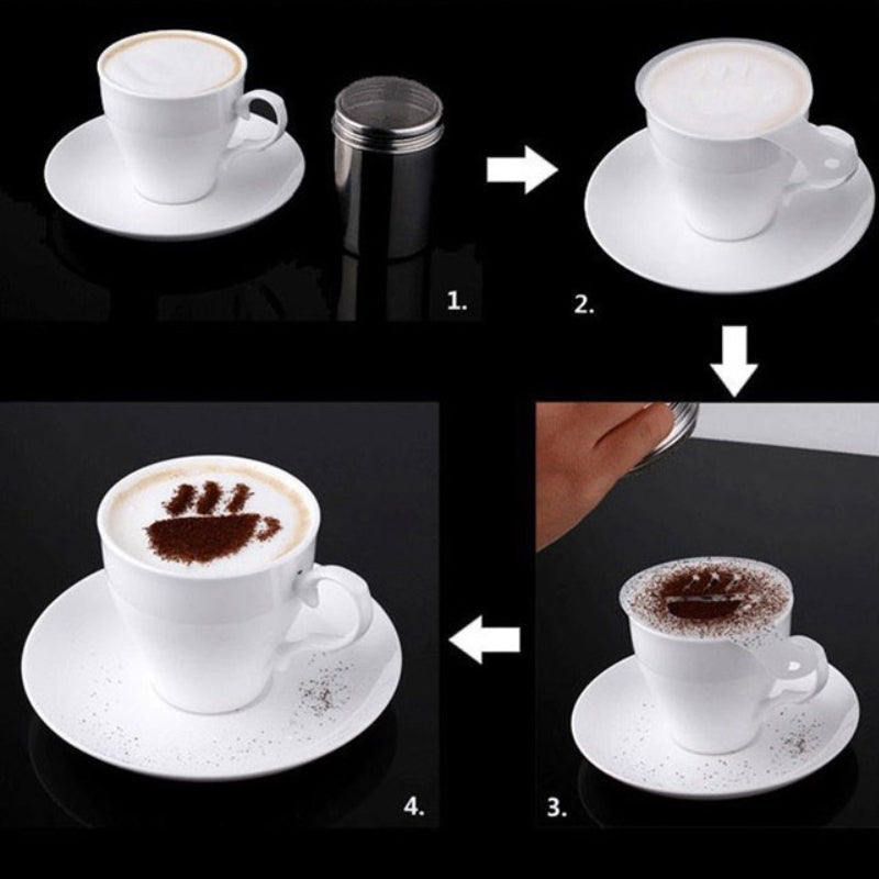 shopify-Latte Lover's Coffee Design Topper Tool In 2 Pak-4
