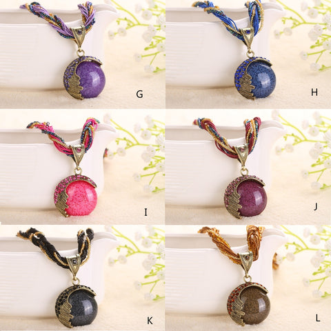 Love Rain Necklace Boho Vibe In 12 Shades
