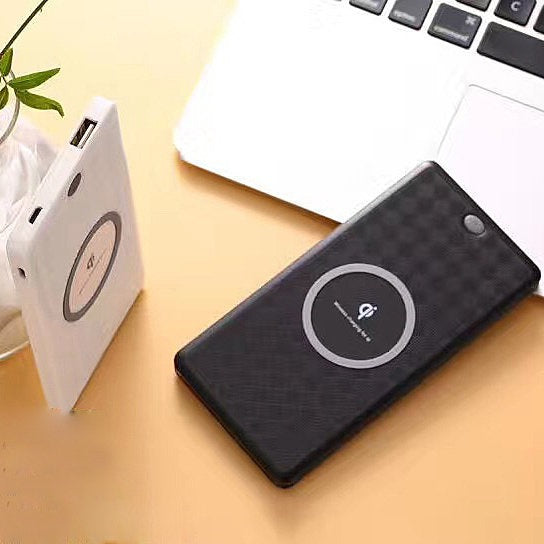 Quick iPhone 8/8X Qi Wireless Portable Pocket Charger ...
