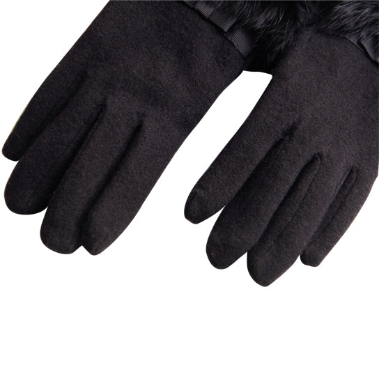 shopify-Kitten Mittens Faux Fur Lining Touch Smart Gloves-7