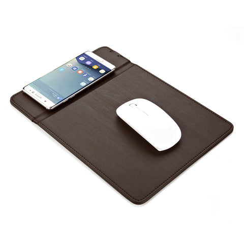 Power Pad A Wireless Charger+Mouse Pad For iPhone 8 And Samsung