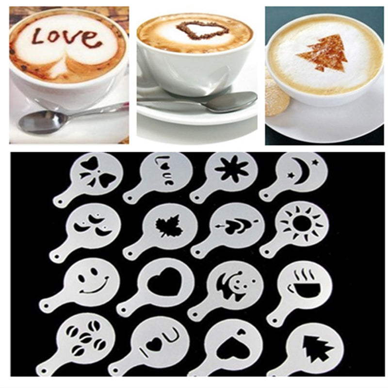 shopify-Latte Lover's Coffee Design Topper Tool In 2 Pak-5