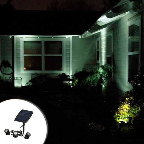 Lavish Landscape All Solar Spot Zoom Lights.