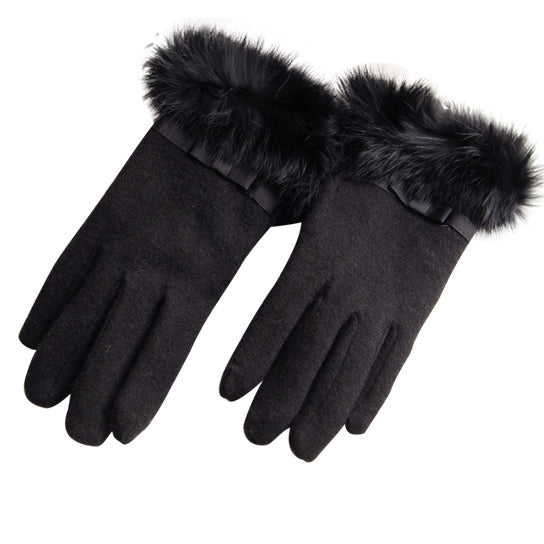 shopify-Kitten Mittens Faux Fur Lining Touch Smart Gloves-6