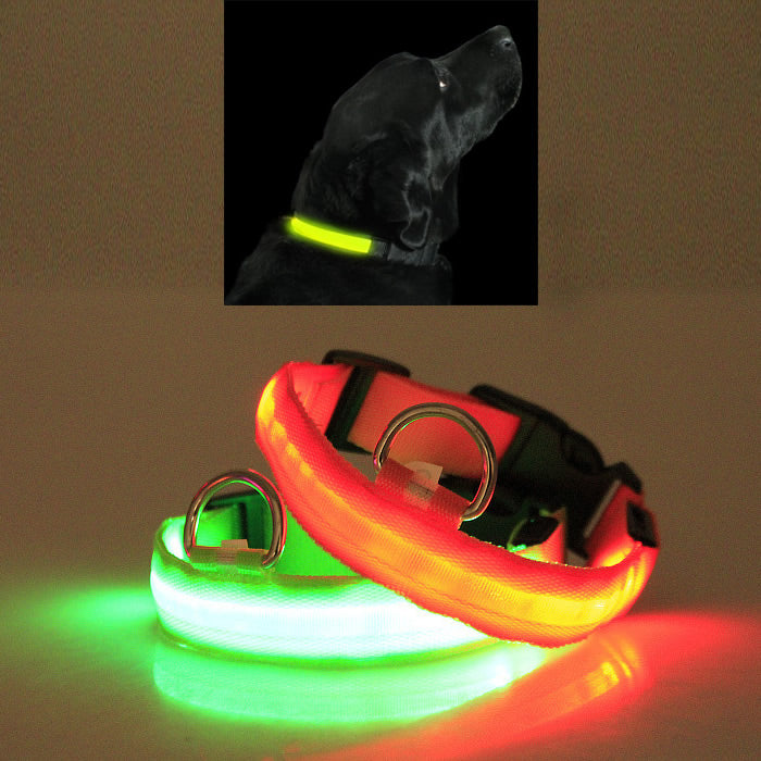 LED PET Safety Halo Style Collar