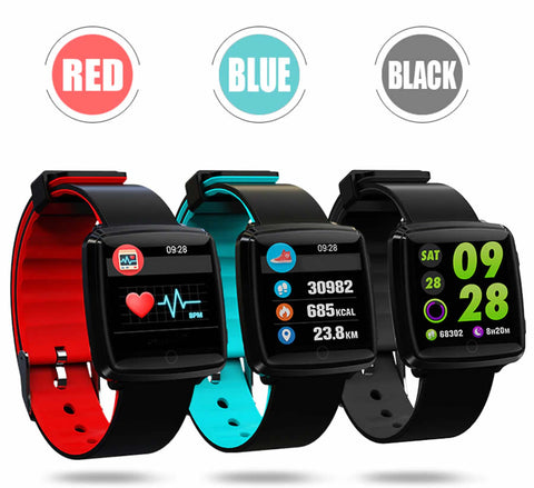 Viva Smart Digital Tracker Band With Live Heart Rate Monitor And BP tracker