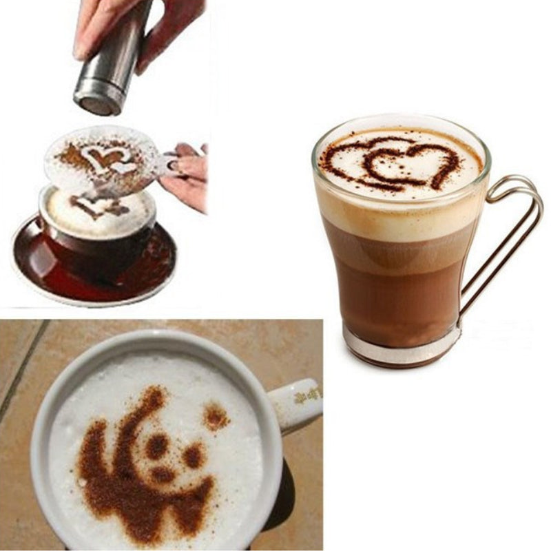 shopify-Latte Lover's Coffee Design Topper Tool In 2 Pak-6
