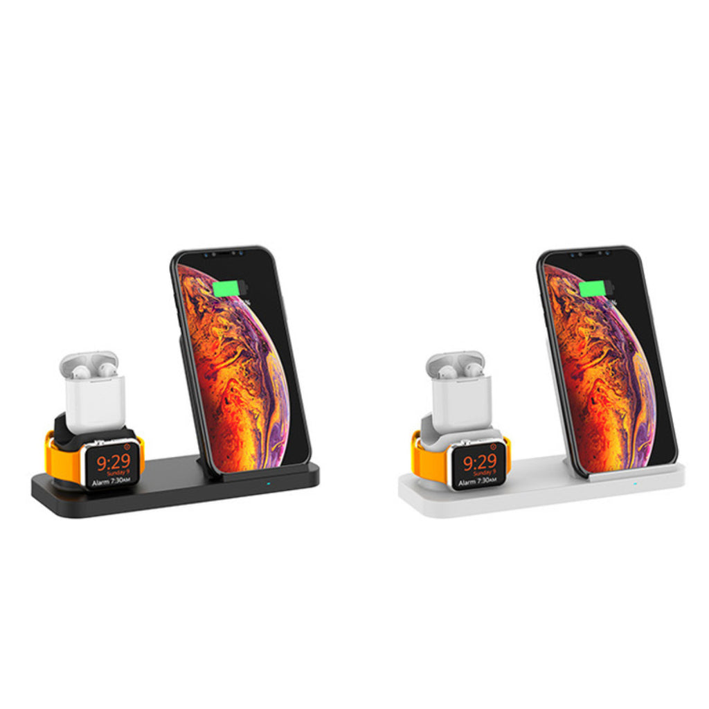 Island Of Power 3 In 1 Wireless Multicharger Charge Your Watch Airpod And Phone