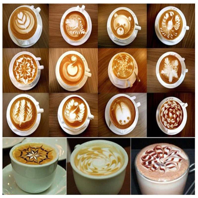 shopify-Latte Lover's Coffee Design Topper Tool In 2 Pak-1