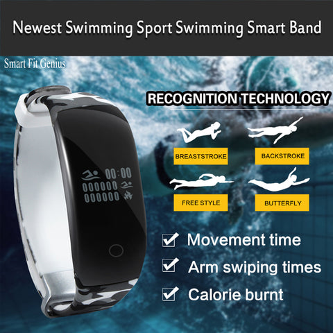 Smart Fit Genius Waterproof Real Time Heart Rate and Activity Monitor Watch