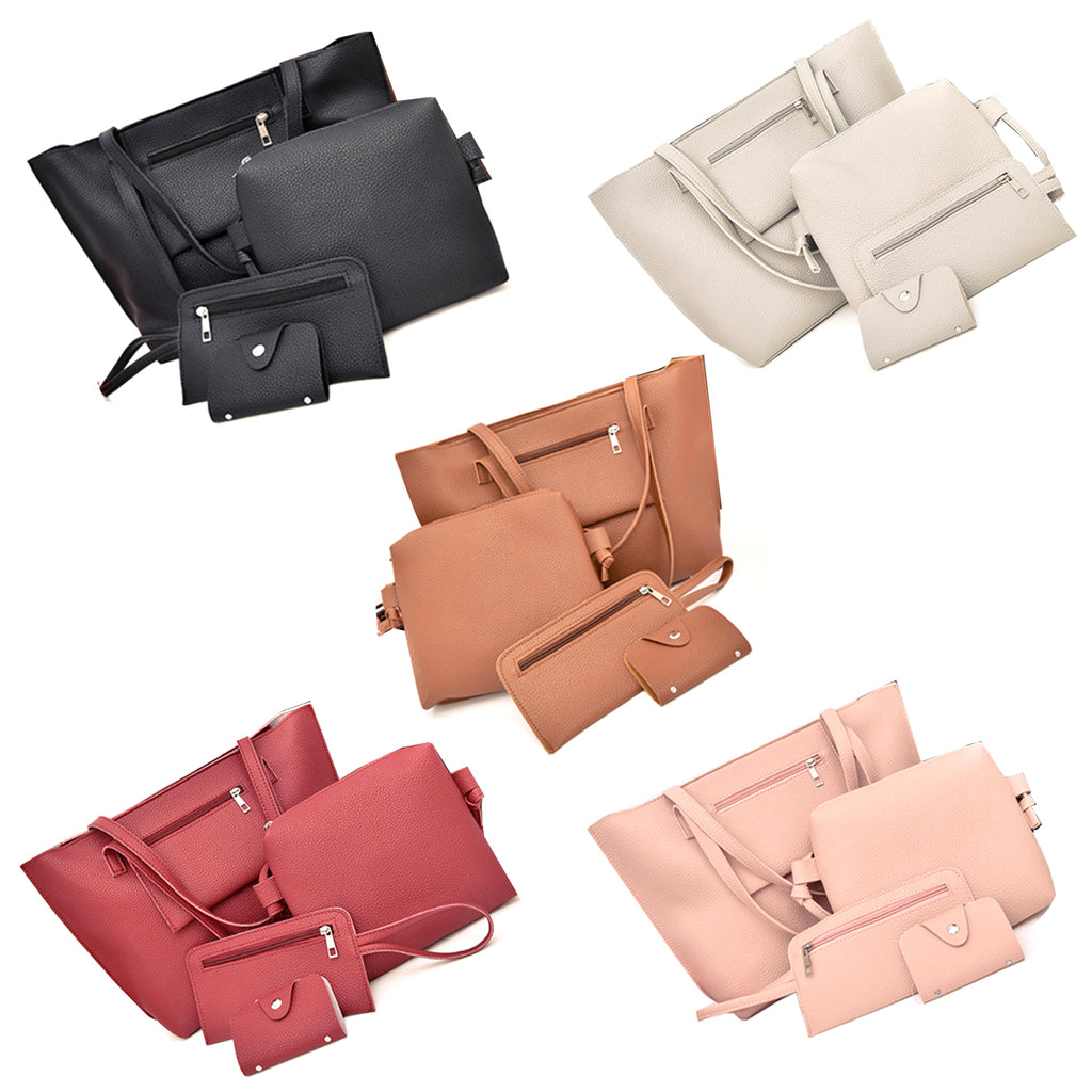 Uptown Handbag 4 In 1 Bags In A Bag