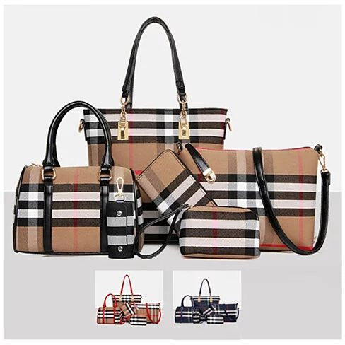 6 In 1 Have It All Handbag From Journey Collection - VistaShops - 1