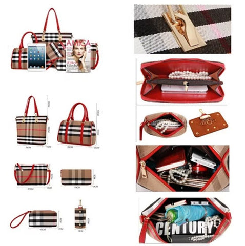 6 In 1 Have It All Handbag From Journey Collection - VistaShops - 4