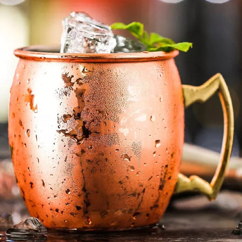 Moscow Mule Mugs Copper Polished Set of 2