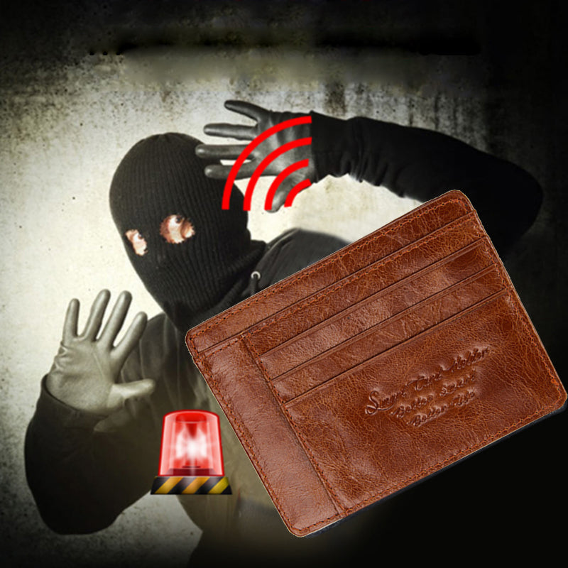 Anti-Theft and Anti-Lost Bluetooth Enabled Wallet