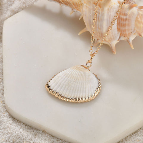 Heartbeats Seashell Necklace Set Of 3