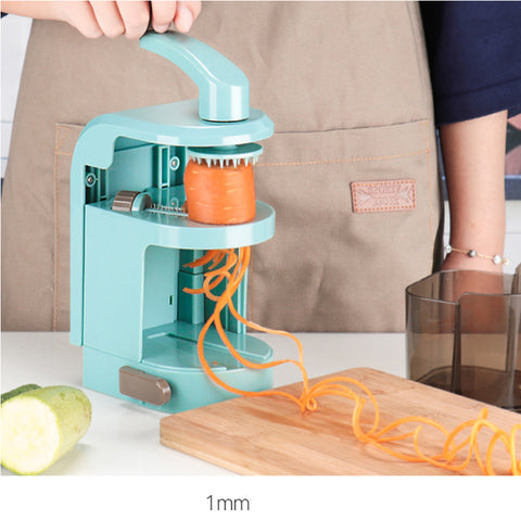 Top Chef Spiralizer Hand Cranked Salad Maker is ready