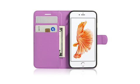 iPhone 7 Solid Case with Wallet And Stand