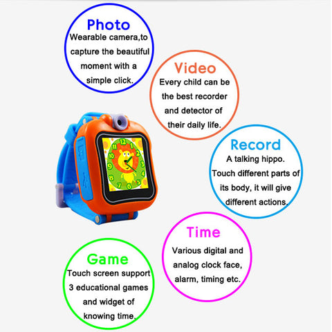 Playtime So Smart Watch With Camera For Fun-Loving Kids