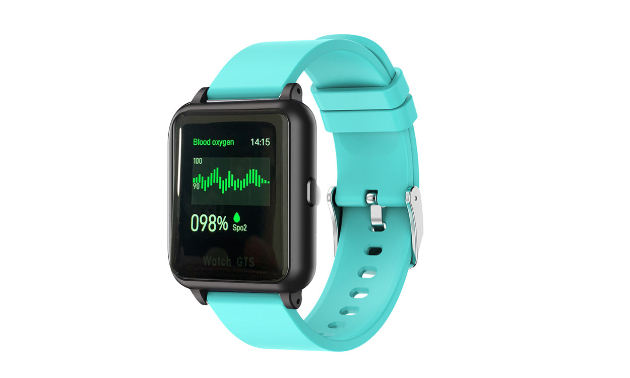 shopify-OXITEMP Smart Watch With Live Oximeter, Thermometer And Pulse Monitor With Activity Tracker-6