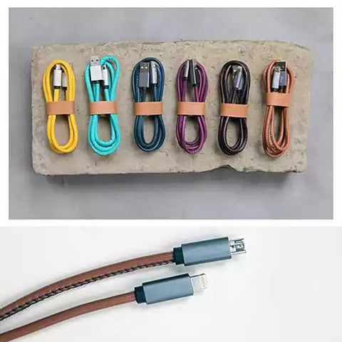 ABLE CABLE Fashionable Limited Edition iPhone Charging Cable Also For Android - VistaShops - 2