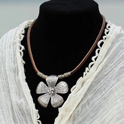 Aloha The Hibiscus Flower Necklace - VistaShops - 1