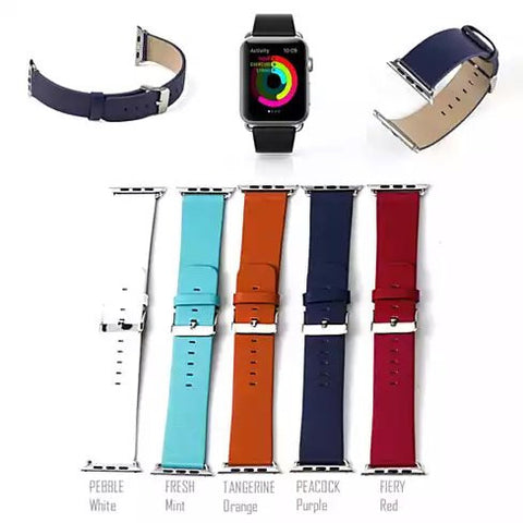 Apple Watch Optional Belt in Real Leather - VistaShops - 4