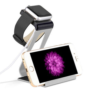 Apple iWatch and iPhone a Dual Charging Stand - VistaShops - 1