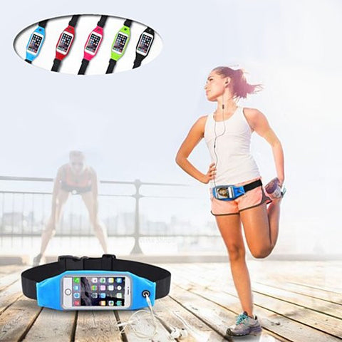 BOOST BELT Exercise Essential Pouch and Smartphone Case