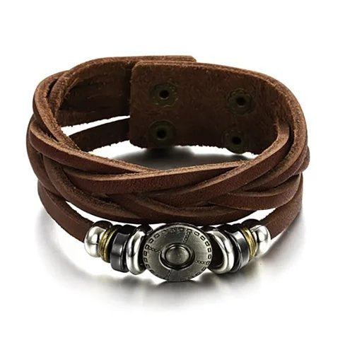 Bingo Bracelet In Genuine Leather - VistaShops - 1