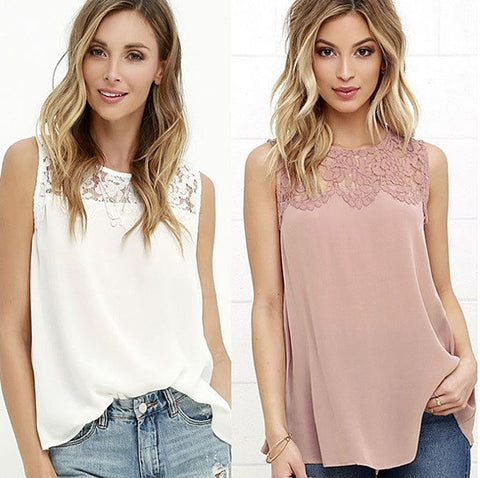 Flora Top Sleeveless Beauty
