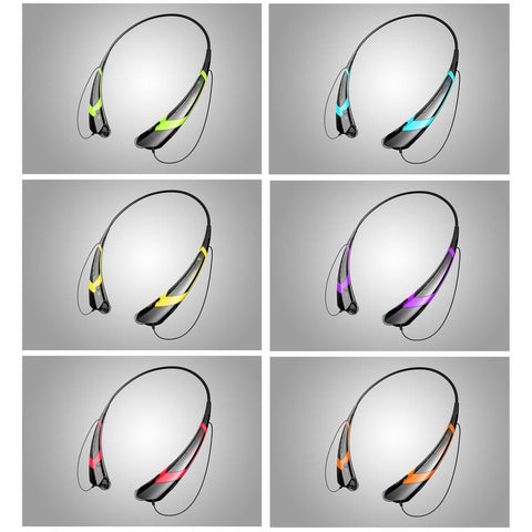 Music & Sound Collar Headphones with Magnetic Earbuds - VistaShops - 2
