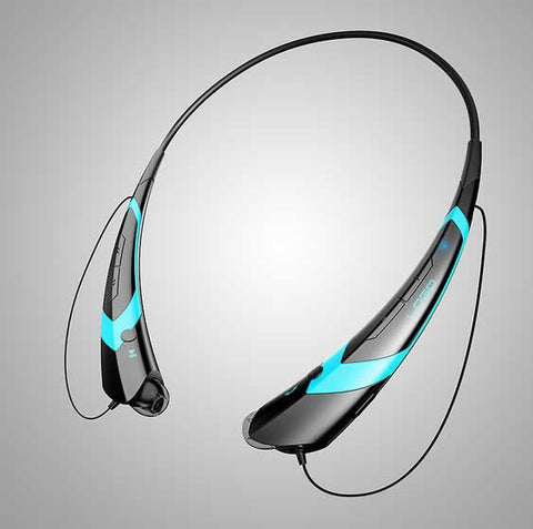 Music & Sound Collar Headphones with Magnetic Earbuds