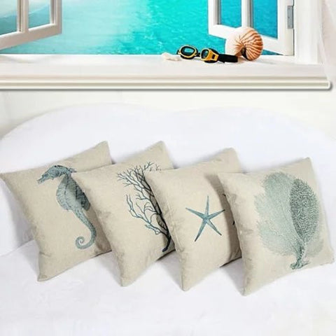 COASTAL CHARM Cushion Covers - VistaShops - 6