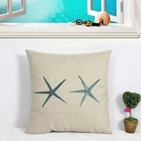 COASTAL CHARM Cushion Covers - VistaShops - 1