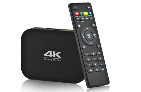 ENTERTAINMENT HUB  - 4K and 1080P Quad Core TV box