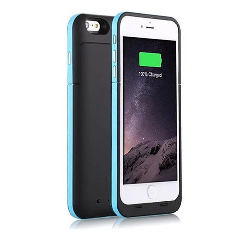 Case with Charger for iPhone 6 and 6 Plus 100% Recharge