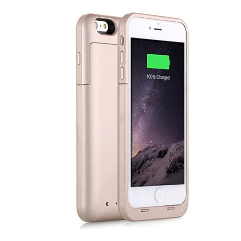 Case with Charger for iPhone 6 and 6 Plus 100% Recharge - VistaShops - 3