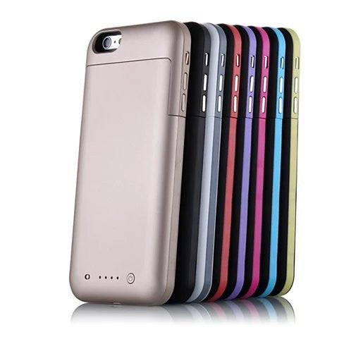 Case with Charger for iPhone 6 and 6 Plus 100% Recharge - VistaShops - 2