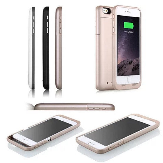 Case with Charger for iPhone 6 and 6 Plus 100% Recharge - VistaShops - 4