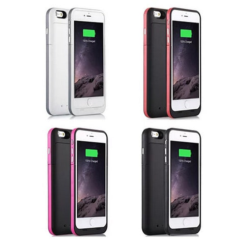 Case with Charger for iPhone 6 and 6 Plus 100% Recharge - VistaShops - 5