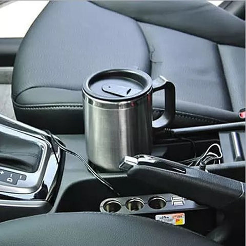 Coffee Hug Car Mug Stainless Steel Coffee Warmer - VistaShops - 3