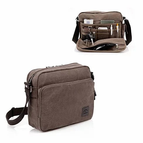 Concierge Journey Canvas Bag Find It All At Your Fingertips - VistaShops - 1