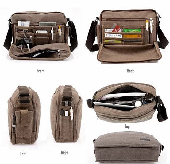 Concierge Journey Canvas Bag Find It All At Your Fingertips - VistaShops - 2