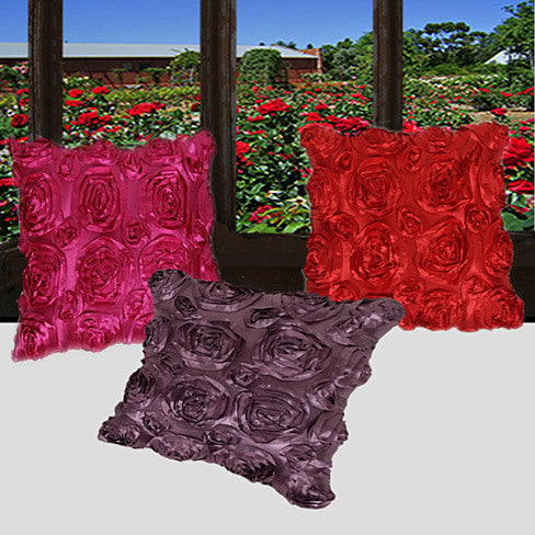 DOZEN ROSES FOR U Cushion Covers w/FREE SHIPPING - VistaShops - 1